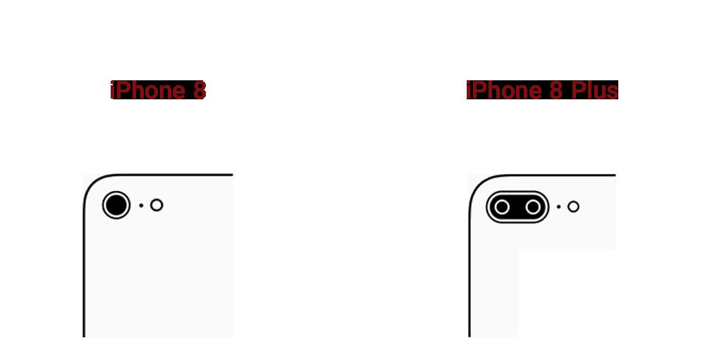 دوربین آیفون ۸ و ۸ پلاس